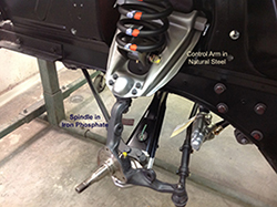 Suspension Components Installed